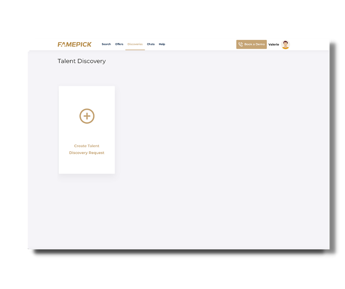 Brand Partners Help Center - create discovery